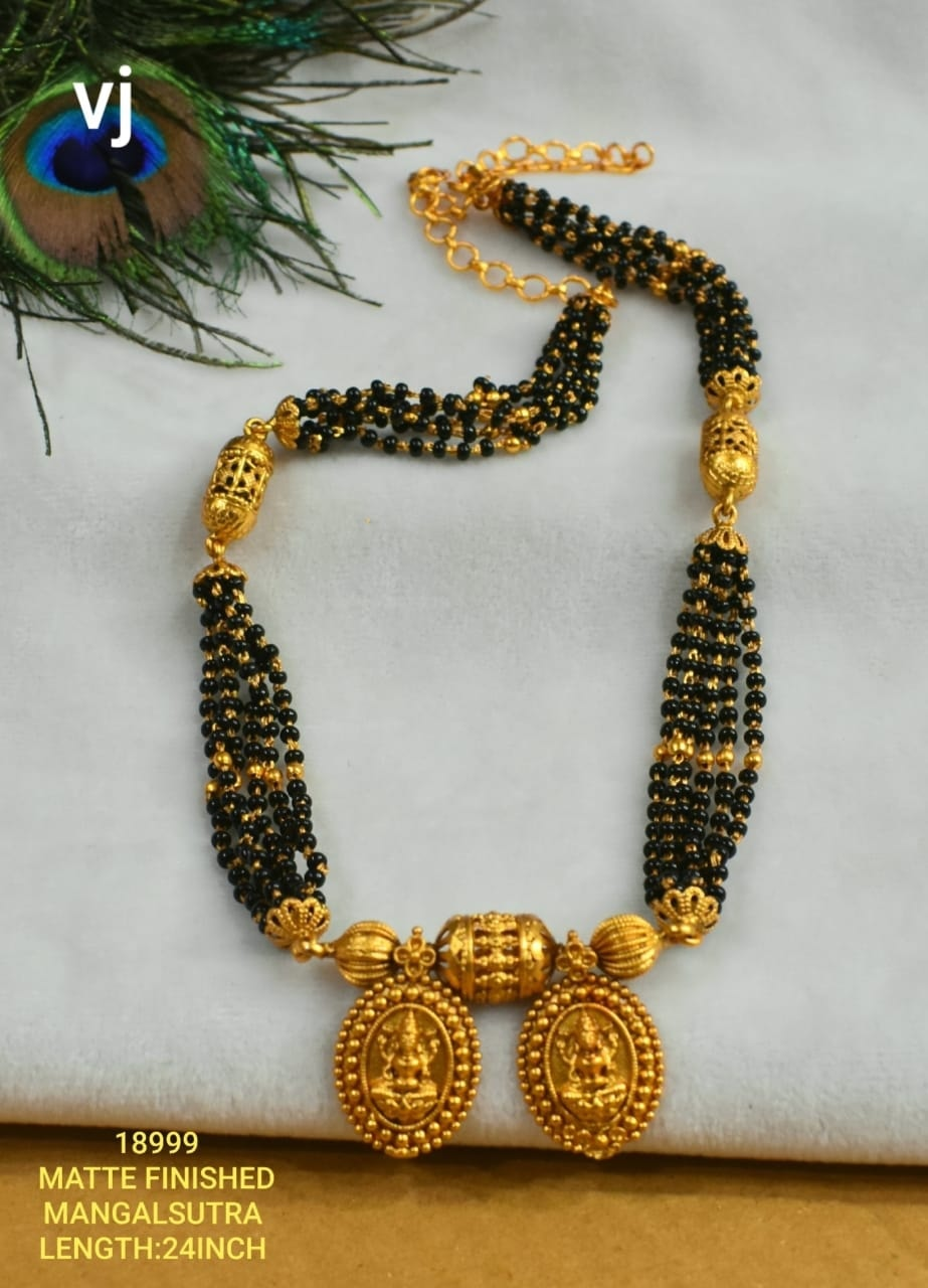 Beautiful one gram gold black bead haaram. Beautiful matte finish mangala sutra. 1 gram gold antique jewellery 1 gram gold jewellery one gram gold mangalsutra design