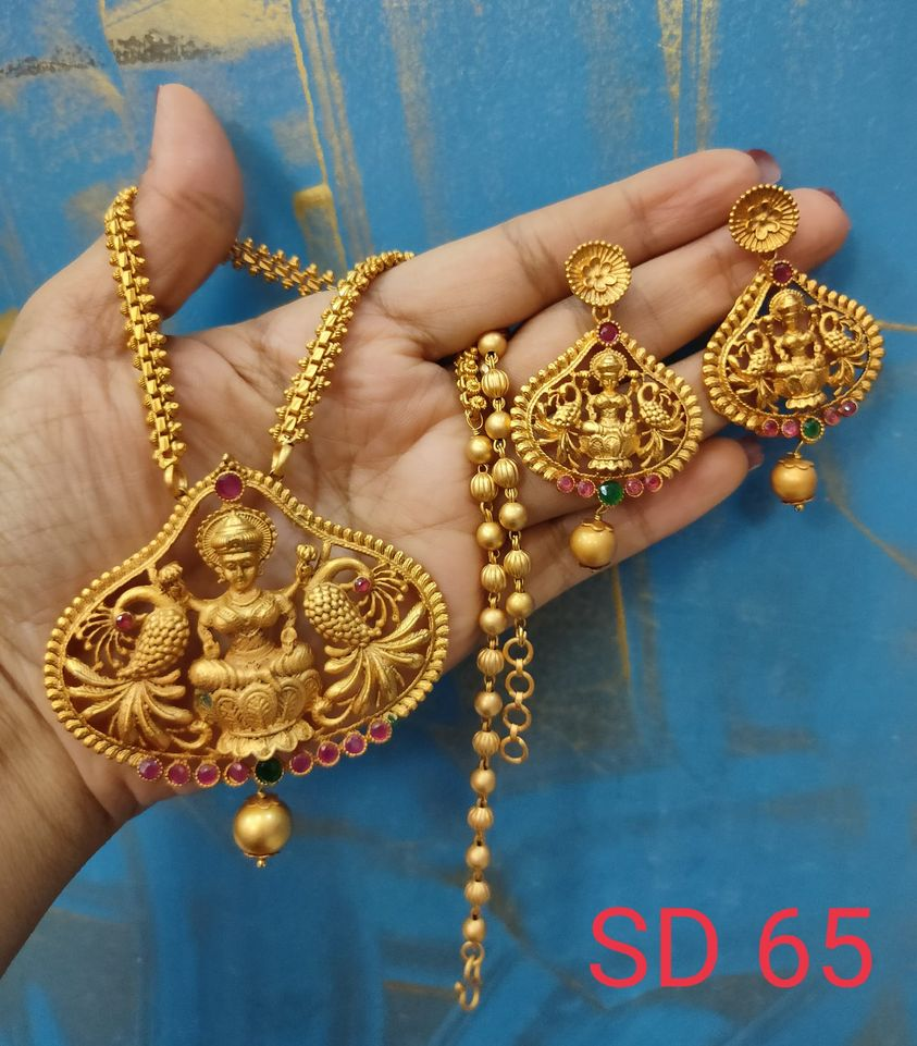Premium quality Matfinish Neckset Price 750/- free shipping What's app 8897313363 1 gram gold jewellery wholesale online 1 gram gold online 1 gram gold antique jewellery
